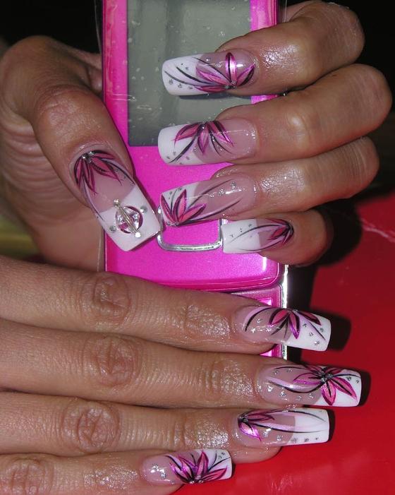 Дизайн ногтей 1 дизайн ногтей на френч